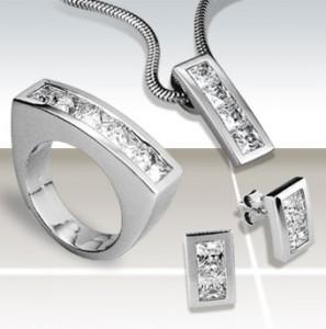 ezüst ékszer